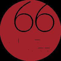 66SS logo PMS 7628 transp bkgrnd